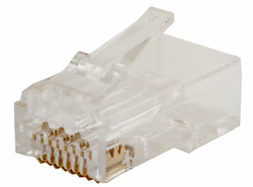 CAT6A Feed Through Style Plug - Unshielded - 100 Count