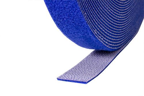 """Velcro Roll 1/2"""" width, Blue 75 Foot Roll"""