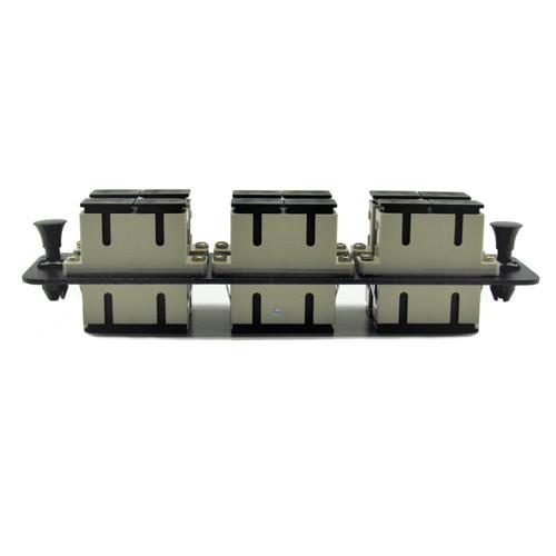 6 Port SC Adapter for Modular Fiber Panels
