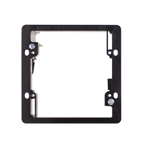 Double Gang Drywall Mounting Bracket Wing Style