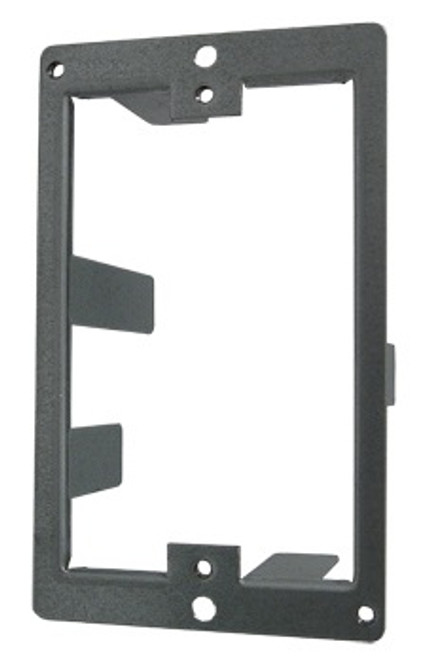 Single Gang Drywall Steel Mounting Bracket Fold Style