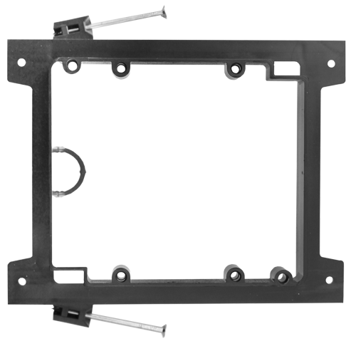 Double Gang Drywall Mounting Bracket Nail Style