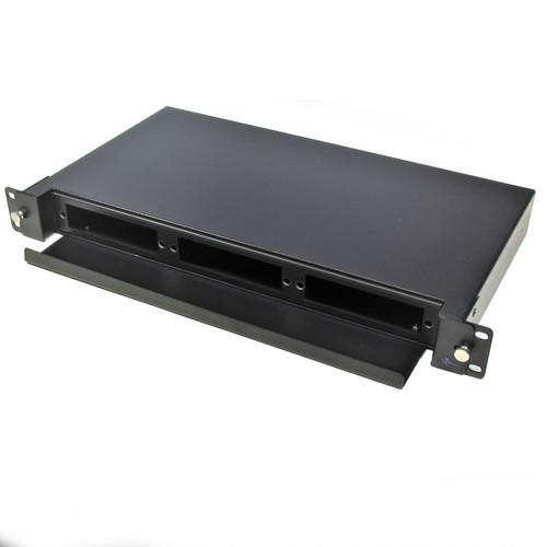 1RU Rackmount Fiber Patch Panel (Unloaded)