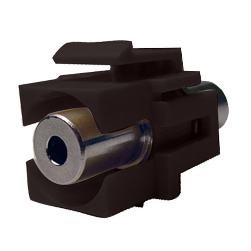 Keystone Connector 3.5mm With Black Jack