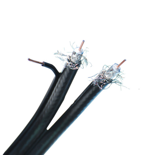 CLOSEOUT - 500 Feet RG6 Dual W/ Ground Coaxial Cable