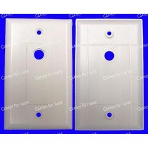 Decorator Economy Single Top Blank Hex Insert Wall Plate