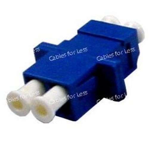 CLOSEOUT - Fiber Coupler, Singlemode Duplex, LC/LC, Female To Female