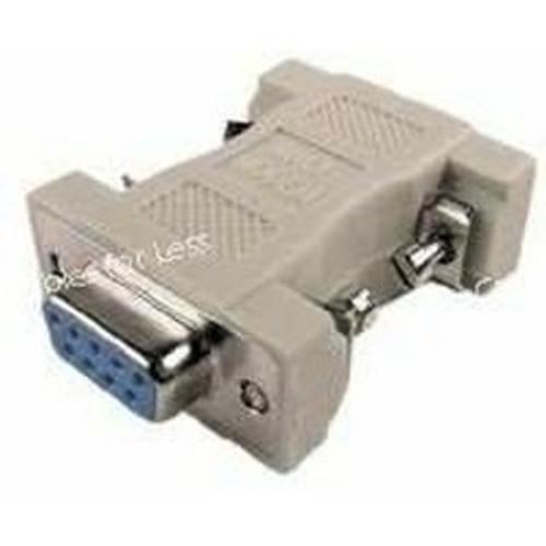 DB9 F/F Null Modem Adapter