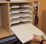 Make Your Paper Shelves Slide!