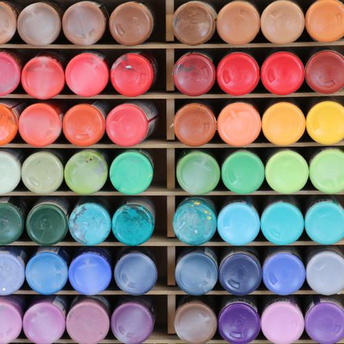 Acrylic Paint Holder