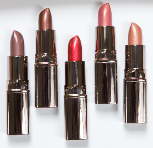 Crème Satin Metallic Lipsticks