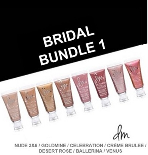 Bridal Bundle 1: Nude 3&6, Goldmine, Celebration, Creme Brulee, Desert Rose, Ballerina, Venus