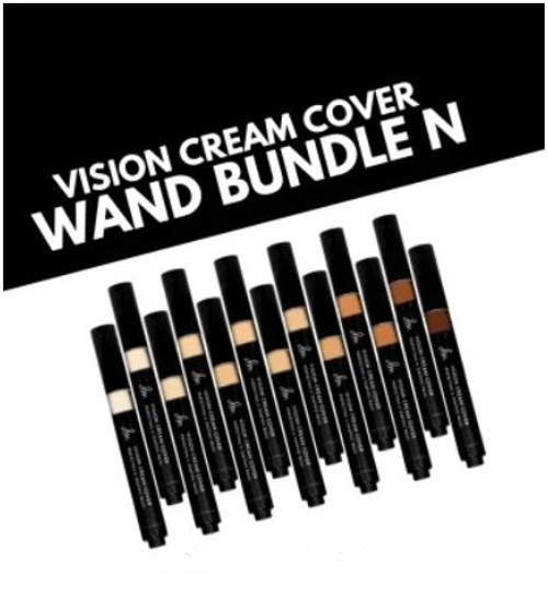 Vision Cream Cover Wand N01 - N10