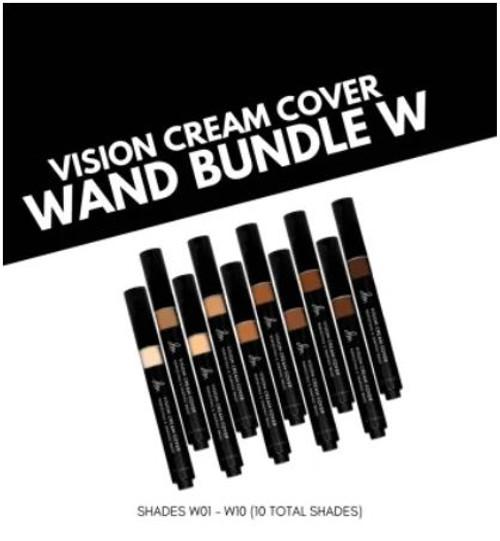 Vision Cream Cover Wand W01 - W10