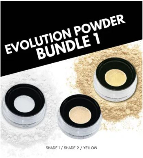 Evolution Powder #1, #2, Yellow