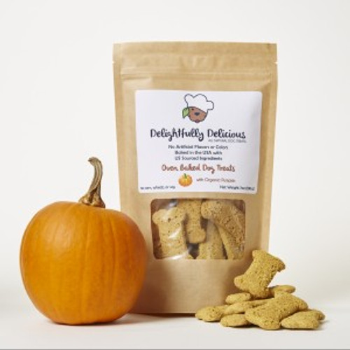 Organic Pumpkin Dog Treats