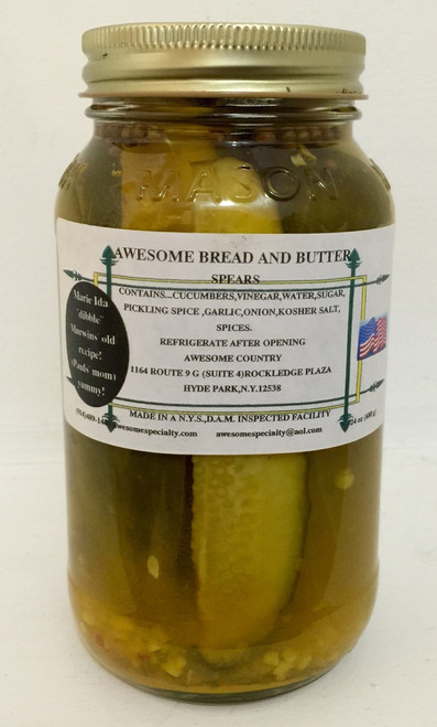 Awesome Bread & Butter Pickles