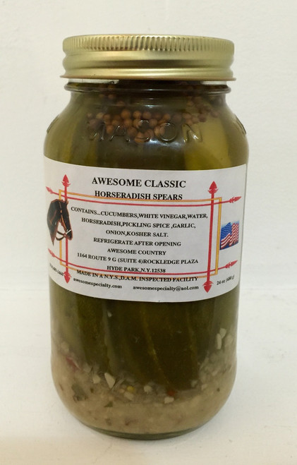 Awesom Classic Horseradish Pickles