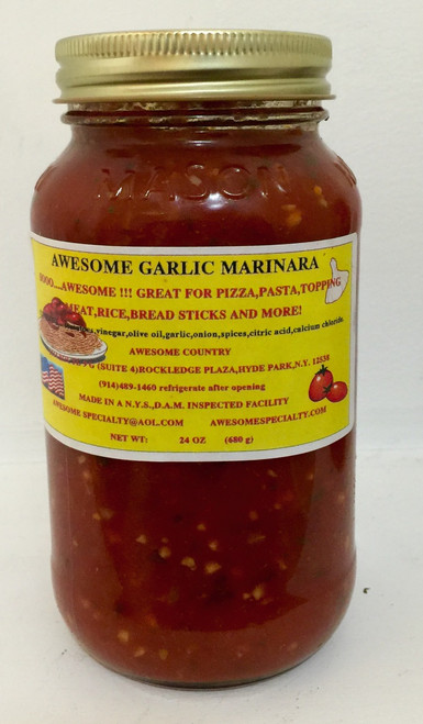 Garlic Marinara Sauce