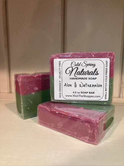Aloe & Watermelon Soap