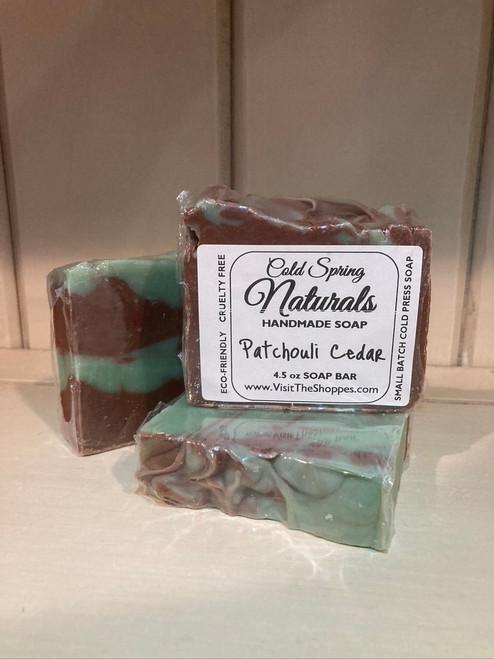 Patchouli Cedar Soap