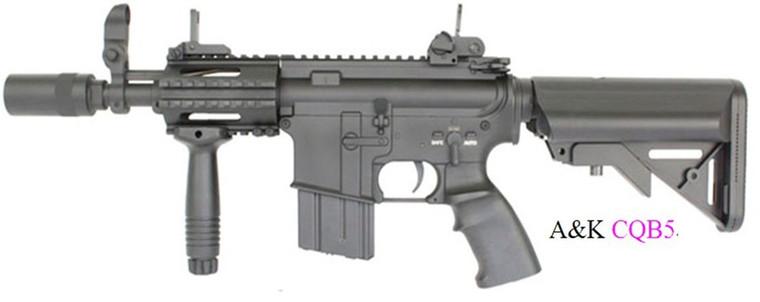 A&K M4 CQB-05 Airsoft Rifle in Black