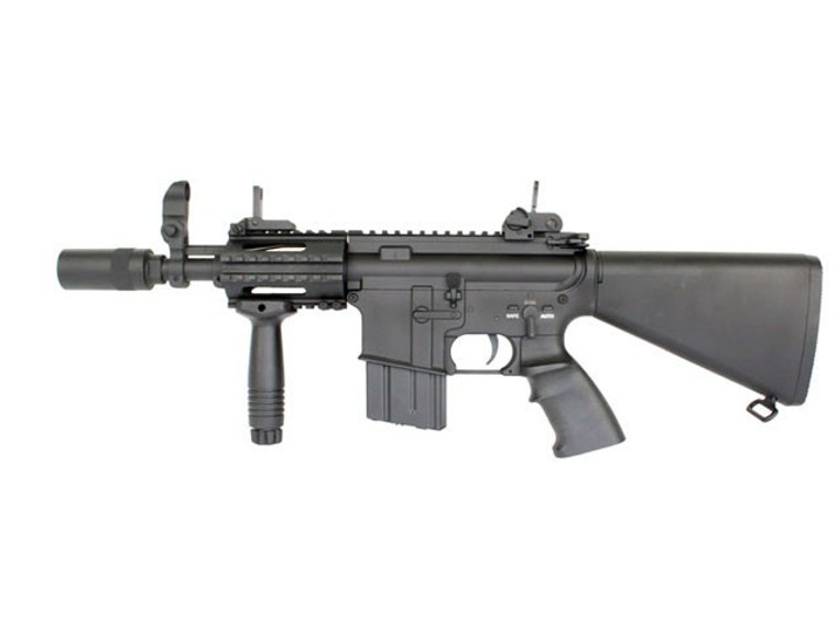 A&K M4 CQB-04 Airsoft Rifle in Black