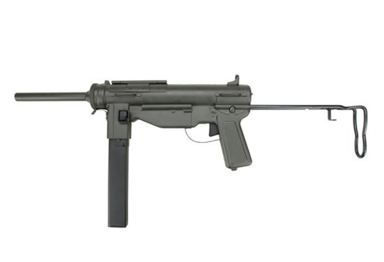 Snow Wolf M3 Full Metal Grease Gun in Black