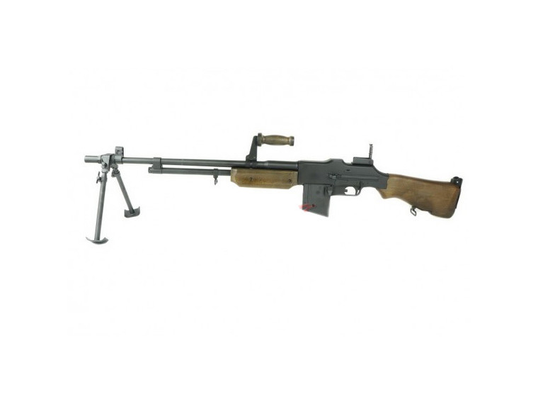 AY Metal M1918A2 Browning Automatic Rifle AEG in Black
