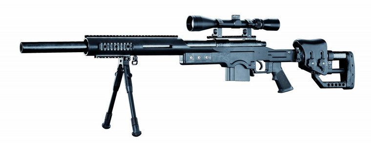 Well MB4410 Bolt Action Sniper Rifle in Black