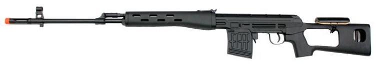 AY Dragunov SVD Spring Rifle in Black