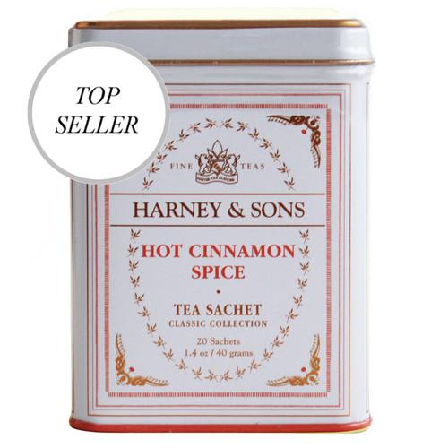 Harney & Sons Hot Cinnamon Spice 20 Sachet Tin