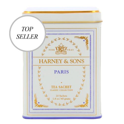 Harney & Sons Paris Classic 20 Sachets Tin