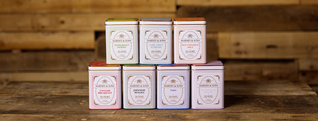 Harney & Sons Fine Teas Tea Lineup