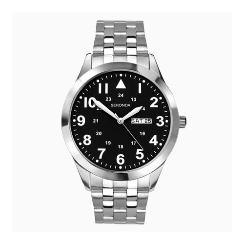 Sekonda Gents Classic Stainless Steel Bracelet Watch 1663