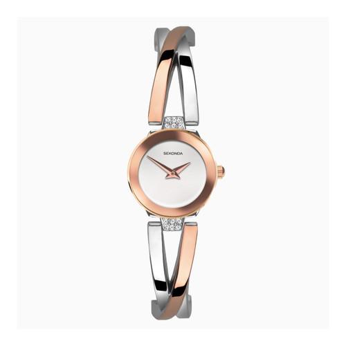 Sekonda Ladies Mesh Stainless Steel Bracelet Watch 40073