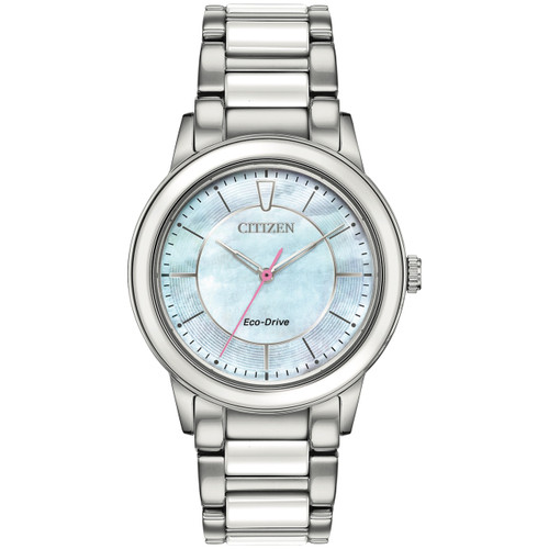 Citizen Ladies Eco-Drive Ceramic Watch EM0740-53D