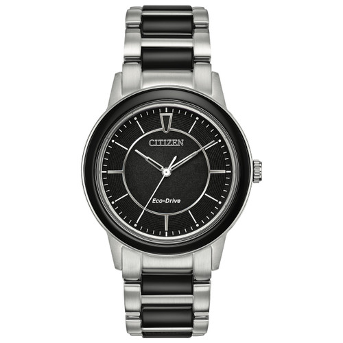 Citizen Ladies Eco-Drive Ceramic  Watch EM0741-51E