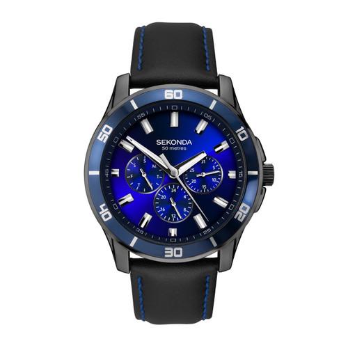 Sekonda Mens Midnight Blue Watch 1634