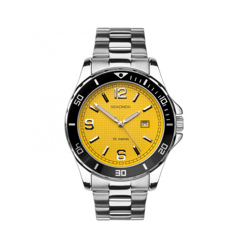 Sekonda Mens Stainless Steel Bracelet Watch 1511