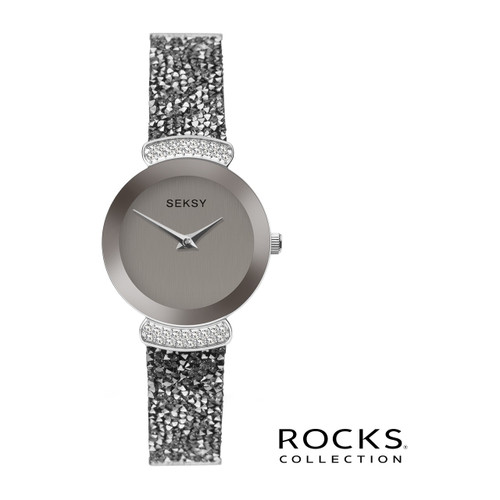 Sekonda Ladies Seksy Rocks Stone Set Bracelet Watch 2718