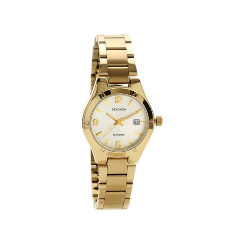 Sekonda Ladies Gold Plated Bracelet Watch 2781