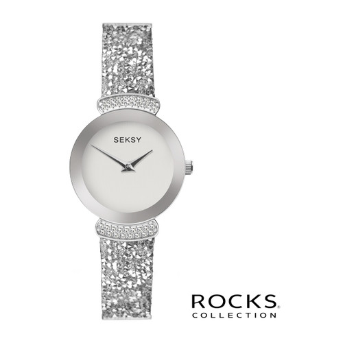 Sekonda Ladies Seksy Rocks Stone Set Bracelet Watch 2721