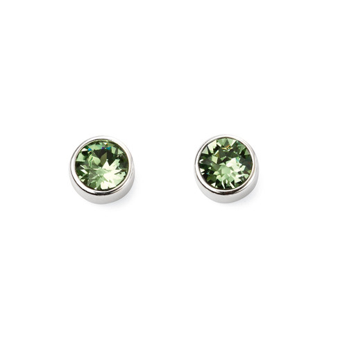Sterling Silver August Birthstone Earrings