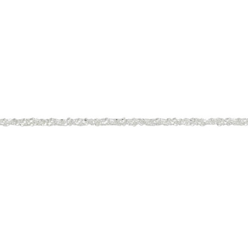 Sterling Silver 1.9mm Stardust Chain Necklace
