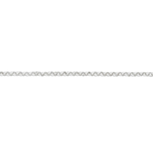 Sterling Silver 2.2mm Baby Belcher Chain Necklace