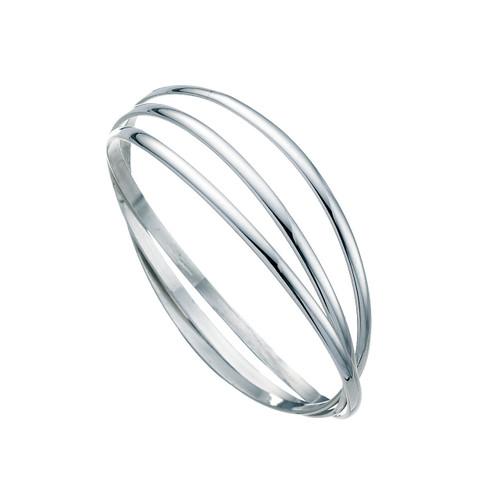 Russian Wedding Silver Bangle