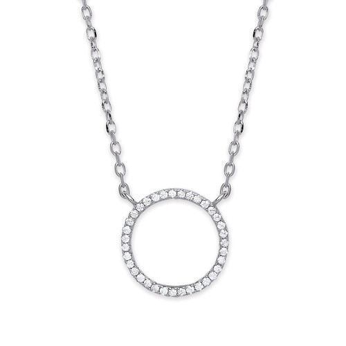 Sterling Silver Circle of Life Pendant Medium