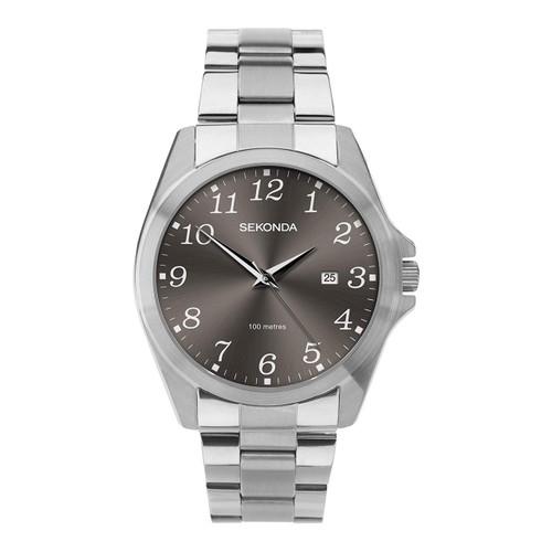Sekonda Mens Bracelet Watch with Grey Dial 1636