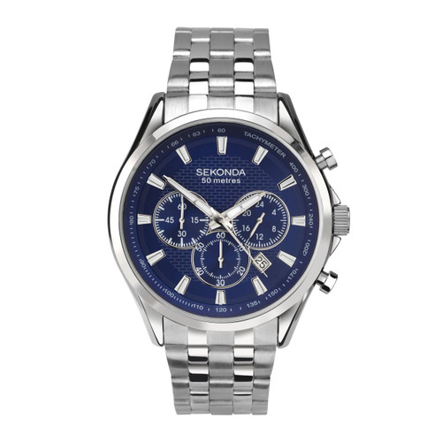 Sekonda Mens Stainless Steel Bracelet Watch 1393